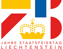 Logo Designs for Liechtenstein's 75th National Holiday