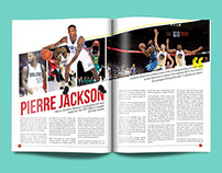 Magazine Spread Layout Design