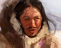 Inuit man.