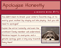 Minute With Molly #3: Apologize Honestly