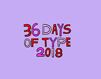 36 Days of Type 2018 / Femme Normale