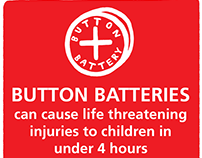 Great Ormond Street Hospital - #ButtonBatteryAware