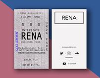 RENA Business Card