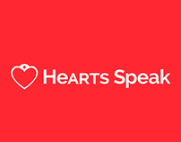 Fictional Rebrand HeARTs Speak