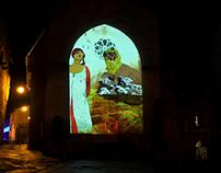 """La bella Galiana-""""fresco animation"""""""