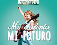Bocetos Campaña Admisión Colegio Pedro de Valdivia