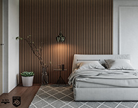 CGI - Modern Bedroom