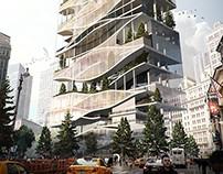 Oculus skyscraper in New York