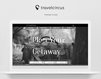 Travelcircus Landing Page