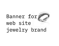 Banner for web site
