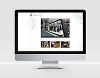 Eksen Mimarlık Web Sitesi Tasarımı