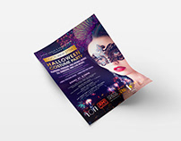 Flyer Design • Elegant Halloween Party