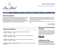 Pan School of Real Estate - Website and Logo Redesign