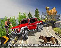 Jurassic Zoo Cargo – Farm Animal Transport Truck