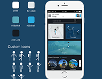 TRIPMAP Logo and App part3 (Visual Design)