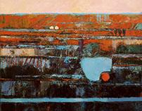 Orange panorama