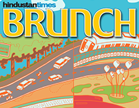 HT Brunch - Delhi Then and Now