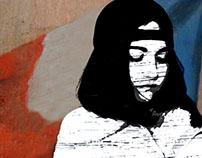 #banksy #videoart #lesmiserable #stencil