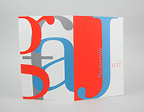 Baskerville Typeface Book