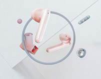 OPPO Enco Free True Wireless Headphones concept video