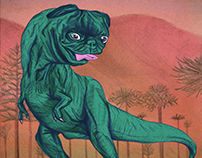 Pugosaurus Rex
