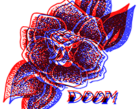 Anaglyph Traditional Roses