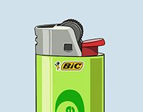 Smoke free lighter