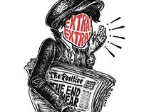 """""""EXTRA! EXTRA! (Newspaper boy)"""""""