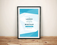 Freebie - Artwork Frame PSD Mockup