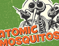 Flea Bops and Atomic Mosquitos Poster