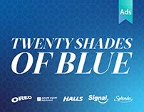 Twenty Shades of Blue
