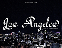 Los Angeles - Modern Script (free)