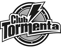 Logo para banda Club Tormenta