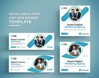 Social Media Post and Web Banner Template.