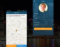 Taxi Booking application - Passenger app