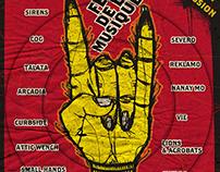 Fete De La Musique Rock Stage Poster