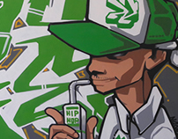 BBoy Juice Green