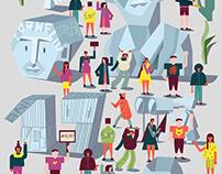 Editorial illustration for Forum Apulum