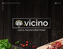 My Vicino - Café & Italian street food - Branding