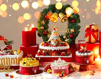 Hongkong Saint Honore Christmas cake