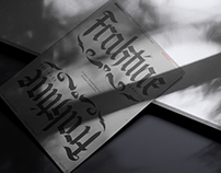 Fraktine - Typeface