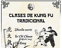 Kung Fu - afiche pulicitario