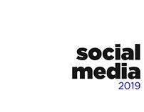 Social Media: 2019