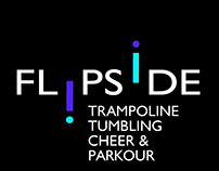 Flipside Tumbling Logo and Banner design | 6.3.17