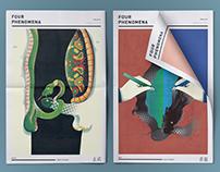 FOUR PHENOMENA : 四象神獸結合社會議題之社論插畫創作展