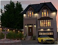 3D VINTAGE HOME DESIGN