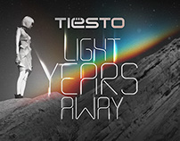 Official Tiesto Single Artwork: Light Years Away