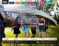 live & learn - propuesta rediseño de sitio
