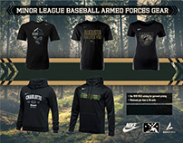 MiLB Armed Forces Gear Flyer and Templates