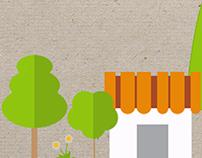 Infográficos de sustentabilidade ambiental